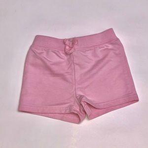 Light Pink Girls Shorts